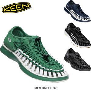 KEEN キーン メンズ サンダル ユニーク オーツー 靴 スニーカー スポーツ オープンエアースニーカー UNEEK O2 MEN KEE0081 国内正規品|hikyrm