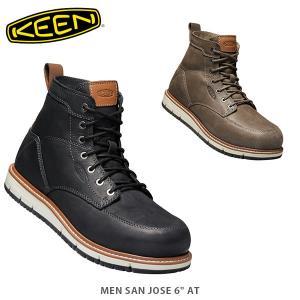 KEEN キーン メンズ ワークブーツ サンノゼエーティー SAN JOSE AT MEN ワークシューズ 安全靴 KEE0104 国内正規品|hikyrm