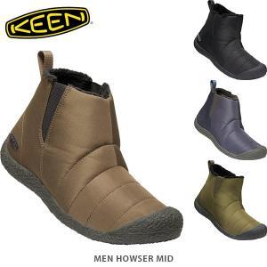 KEEN キーン メンズ サイドゴアブーツ ハウザー ミッド LIFESTYLE MEN HOWSER MID KEE0170 国内正規品|hikyrm