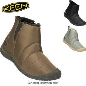 KEEN キーン レディース サイドゴアブーツ ハウザー ミッド LIFESTYLE WOMEN HOWSER MID KEE0171 国内正規品|hikyrm