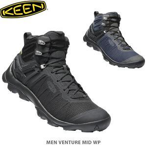 KEEN キーン メンズ トレッキングブーツ ヴェンチャー ミッド ウォータープルーフ OUTDOOR MEN VENTURE MID WP KEE0204 国内正規品 hikyrm