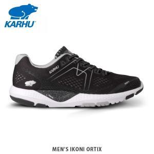 KARHU カルフ メンズ スニーカー IKONI ORTIX JET ジェットブラック×ホワイト KH100266|hikyrm
