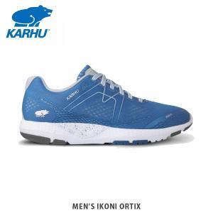 KARHU カルフ メンズ スニーカー MENS IKONI ORTIX OLYMPIAN BLUE/GLACIER GREY シューズ KH100269|hikyrm