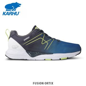KARHU カルフ メンズ スニーカー シューズ MEN'S FUSION ORTIX OLYMPIAN BLUE/BLUE NIGHT KH100271|hikyrm