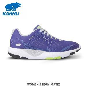 KARHU カルフ レディース スニーカー シューズ WOMENS IKONI ORTIX LIBERTY PURPLE/SHARP GREEN KH200270 hikyrm