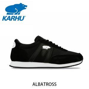 KARHU カルフ メンズ レディース スニーカー アルバトロス ALBATROSS スウェード×ナイロン ブラック×ブラック ローカット 定番 フィンランド 北欧 KH802567|hikyrm