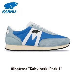 KARHU カルフ メンズ レディース スニーカー アルバトロス ALBATROSS ローカット 定番 フィンランド 北欧 ブルーアスター×ホワイト KH802586|hikyrm