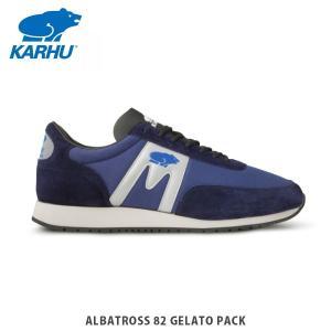 KARHU カルフ メンズ レディース スニーカー アルバトロス 82 ALBATROSS 82 GELATO PACK PATRIOT BLUE / SILVER シューズ KH802594|hikyrm