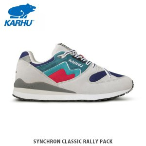 KARHU カルフ メンズ レディース スニーカー シンクロン クラシック ラリー SYNCHRON CLASSIC RALLY PACK GLACIER GRAY / LAKE BLUE シューズ KH802643|hikyrm