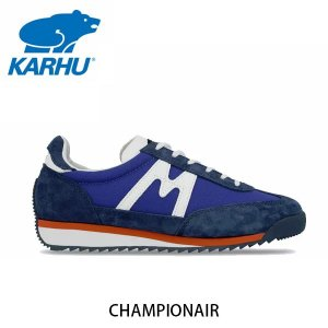 KARHU カルフ メンズ レディース スニーカー チャンピオンエア CHAMPIONAIR スウェード×ナイロン クラシックブルー×ホワイト ローカット 定番 北欧 KH805002|hikyrm