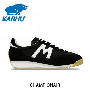 KARHU カルフ メンズ レディース スニーカー チャンピオンエア CHAMPIONAIR スウェード×ナイロン ブラック×ホワイト ローカット 定番 北欧 KH805003|hikyrm