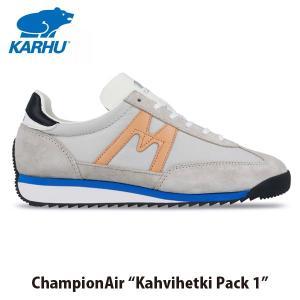 KARHU カルフ メンズ レディース スニーカー チャンピオンエア CHAMPIONAIR ルナーロック×ミューテッドクレイ ローカット 定番 フィンランド 北欧 KH805021|hikyrm