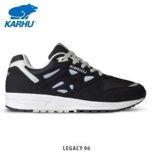 KARHU カルフ メンズ レディース スニーカー シューズ LEGACY 96 JET BLACK/BLUE FOG KH806003|hikyrm