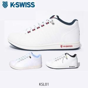 ケースイス K-SWISS スニーカー KSL01 レディース メンズ 厚底 白 ホワイト トリコ シンプル シンセティックレザー KSW3680001 国内正規品|hikyrm