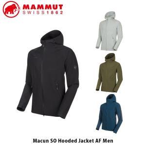 MAMMUT マムート メンズ アウター Macun SO Hooded Jacket AF Men ジャケット パーカー アウトドア キャンプ ハイキング レジャー 1011-00790 MAM101100790|hikyrm