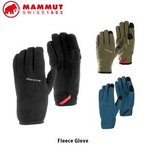 MAMMUT マムート Fleece Glove グローブ 手袋 アウトドア ハイキング キャンプ タッチスクリーン対応 軽量 メンズ レディース 1190-05921 MAM119005921|hikyrm