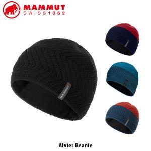MAMMUT マムート Alvier Beanie 帽子 ニットビーニー アウトドア キャンプ ハイキング レジャー ウィンタースポーツ 1191-00500 MAM119100500|hikyrm