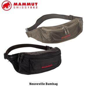 MAMMUT マムート Neuveville Bumbag 2L バムバッグ ショルダーバッグ かばん アウトドア ハイキング 旅行 タウンユース 2520-00141 MAM252000141|hikyrm