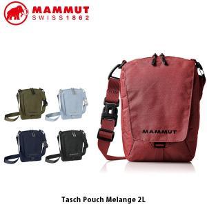 マムート MAMMUT ショルダーバッグ タッシュポーチメランジ 2L Tasch Pouch Melange 2L ウォーキング 斜め掛け ショルダーポシェット 2520-00651 MAM2520006512|hikyrm