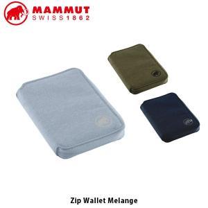 マムート MAMMUT ジップウォレットメランジ Zip Wallet Melange 財布 小銭入れ ウォレット カード入れ コンパクト 2520-00720 MAM252000720|hikyrm