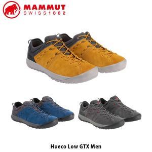 マムート MAMMUT メンズ トレッキング シューズ HUECO LOW GTX MEN ゴアテックス GORE-TEX 登山靴 クライミング ハイキング 3020-06110 MAM302006110|hikyrm