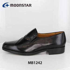 ムーンスター メンズ ビジネスシューズ コンフォート 紳士靴 MB1242 ワイド設計 通気ソール 靴 4E 月星 MOONSTAR MB1242 hikyrm