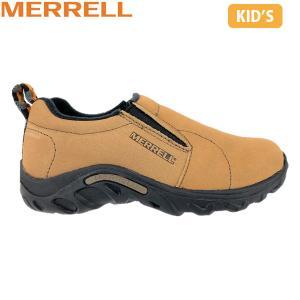 メレル MERRELL キッズ シューズ ジャングルモック JUNGLE MOC NUBUCK KIDS BROWN ブラウン 95625 MERK95625 hikyrm