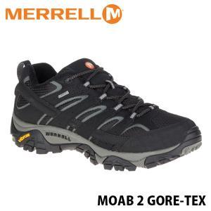 メレル MERRELL メンズ モアブ2 ゴアテックス ブラック 黒 防水 アウトドア ウォーキング 登山 シューズ ハイキング 靴 MOAB2 GORE-TEX 6037 MERM06037|hikyrm