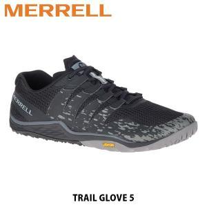 メレル MERRELL メンズ トレイルランニングシューズ Trail Glove 5 トレイル グローブ 5 ローカット ブラック メッシュ ビブラムソール 50293 MERM50293|hikyrm