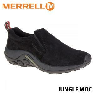 メレル メンズ スリッポン ジャングルモック ミッドナイト アウトドア ウォーキング 登山 レザー スニーカー 靴 男性用 おしゃれ MERRELL 60825 MERM60825 hikyrm