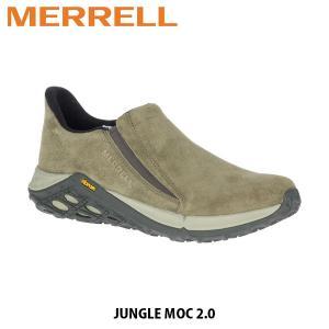 メレル MERRELL メンズ ジャングル モック 2 スリッポン シューズ アウトドア ウォーキング 登山 JUNGLE MOC 2 DUSTY OLIVE ダスティオリーブ 94525 MERM94525|hikyrm