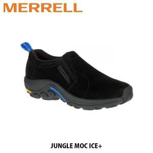 メレル MERRELL レディース モックシューズ スリッポン ジャングル モック アイスプラス ブラック JUNGLE MOC ICE+ BLACK 冬モデル アウトドア 37844 MERW37844|hikyrm