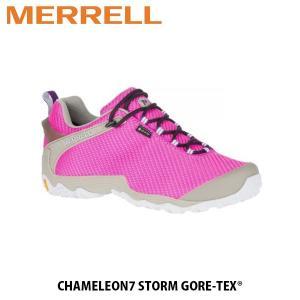 メレル MERRELL レディース ハイキングシューズ スニーカー マグネティック ピンク CHAMELEON 7 STORM GORE-TEX MAGNETIC PINK アウトドア 99556 MERW99556|hikyrm