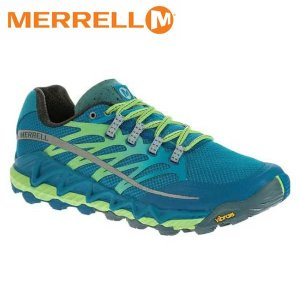 MERRELL メレル シューズ メンズ ALL OUT PEAK J03941 サイズ8 RACER BLUE×BRIGHT GREEN MFWM03941|hikyrm