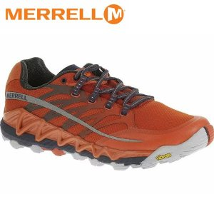 MERRELL メレル シューズ メンズ ALL OUT PEAK J03943 サイズ9 SPICY ORANGE×ASTRA AURA MFWM03943-9|hikyrm
