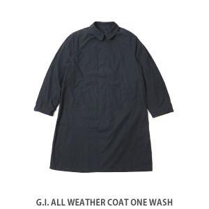 MILITARY ミリタリー G.I. ALL WEATHER COAT ONE WASH メンズ コート おしゃれ ジャケット 8405-00-204-3594 MIL10049 hikyrm