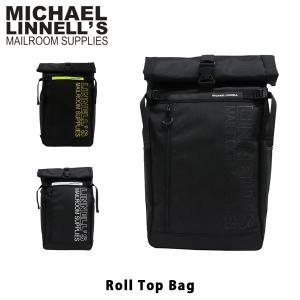 マイケルリンネル リュック Roll Top Bag 45L バックパック デイパック 通勤 通学 メンズ レディース MICHAEL LINNELL ML-027 ML027 国内正規品|hikyrm