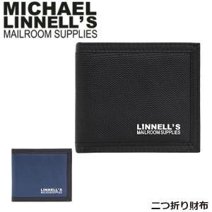 マイケルリンネル MICHAEL LINNELL 二つ折り 財布 MLWA-1680-01 ウォレット Wallet メンズ レディース 男女兼用 MLWA168001 国内正規品|hikyrm