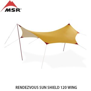 MSR エムエスアール ランデブーサンシールド120ウィング タープ 2〜4人 ミドルサイズ キャンプ アウトドア MSR37014 国内正規品|hikyrm