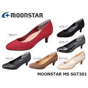 パンプス レディース ムーンスター MS SGT301 靴 sugata やわらか設計 1E MOONSTAR MSSGT301|hikyrm