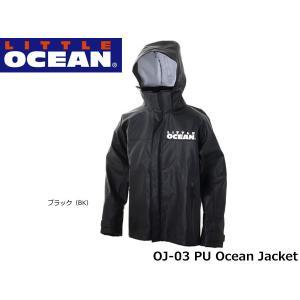 リトルオーシャン LITTLE OCEAN PU オーシャン ジャケット PU Ocean Jacket リトルプレゼンツ OJ-03 OJ03|hikyrm