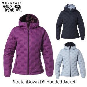 マウンテンハードウェア レディース ジャケット ストレッチダウンDSフーデッドジャケット StretchDown DS Hooded Jacket MOUNTAIN HARDWEAR OR0780|hikyrm