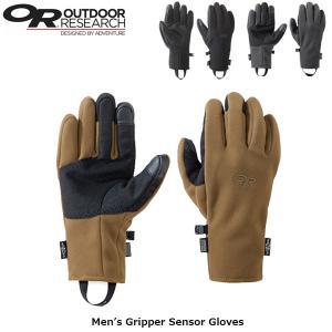 アウトドアリサーチ OUTDOOR RESEARCH メンズ グローブ 手袋 グリッパーセンサーグローブ アウトドア フリース 防風 軽量 OR19841639 国内正規品|hikyrm