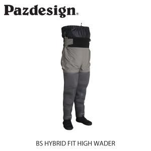 パズデザイン Pazdesign BSハイブリッドフィットハイウェーダー BS HYBRID FIT HIGH WADER 透湿防水素材 フィッシングベスト 釣り PBW-511 PBW511|hikyrm