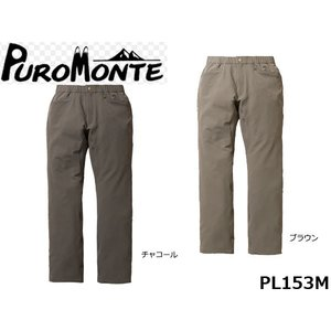PUROMONTE プロモンテ メンズ パンツ スリムフィットトレッキングパンツ 国内正規品 PL153M|hikyrm