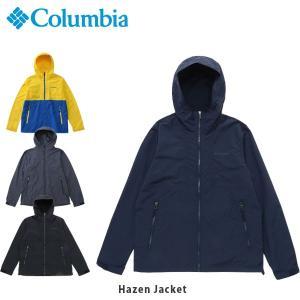 コロンビア Columbia メンズ ジャケット ヘイゼンジャケット ウェア 上着 アウター 羽織り マウンテンパーカー ライトアウター 無地 PM3440 国内正規品|hikyrm