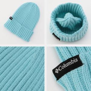 コロンビア Columbia キッズ ユース 帽子 スプリットレンジジュニアニットキャップ ニット帽 アウトドア キャンプ PU5445 国内正規品|hikyrm|04