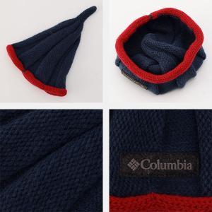 コロンビア Columbia キッズ ユース 帽子 ブルーベリーハーバージュニアニットキャップ ニット帽 ニットキャップ アウトドア キャンプ PU5446 国内正規品|hikyrm|04