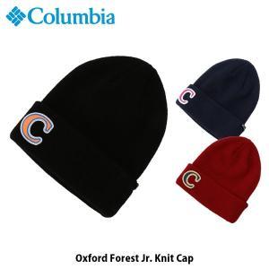 コロンビア Columbia キッズ ユース 帽子 オックスフォードフォレストジュニアニットキャップ ニット帽 アウトドア キャンプ PU5448 国内正規品|hikyrm