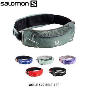 サロモン SALOMON ウェストバッグ AGILE 500 BELT SET ソフトフラスク付き ベルト セット ユニセックス レディース メンズ L39406500 L40132100 SAL0125|hikyrm